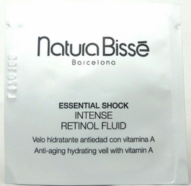 Natura Bisse Essential Shock Intense Retinol Fluid Sample 2 ml. Lot of 10 PCS