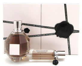 Flowerbomb by Victor & Rolf 2Pc Gift Set for Women:EDP Spray 3.4 oz.+20 ml. NEW