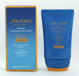 Shiseido Ultimate Sun Protection Cream 50+ WetForce 50 ml / 2 oz New In Box