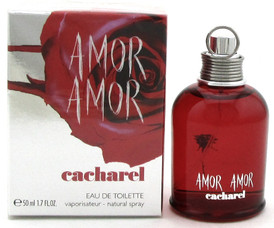 AMOR AMOR Perfume by Cacharel 1.7 oz. EDT Spray for Women. New in Sealed Box
