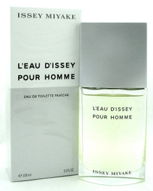 Issey Miyake L'eau D'issey Pour Homme 3.3 oz. EDT FRAICHE Spray for Men. New