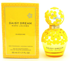 Daisy Dream Sunshine Perfume by Marc Jacobs 1.7oz EDT Limited Edition.NIB