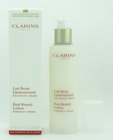 Clarins Bust Beauty Lotion Enhances Volume 50 ml./ 1.7 oz. New Packaging NIB