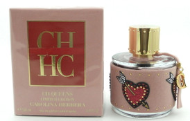 CH QUEENS Perfume by Carolina Herrera 3.4 oz EDP Spray Damaged Box