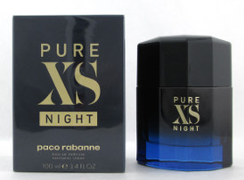 PURE XS NIGHT Cologne by Paco Rabanne 3.4 oz. EDP Spray for Men New Sealed Box