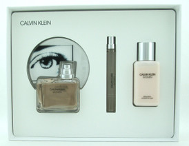 Calvin Klein WOMEN by Calvin Klein Set Includes: EDP Spray 3.4 oz./ 100 ml. + EDP Spray  0.33 oz./ 10 ml. + Body Lotion 3.4 oz./ 100 ml. New