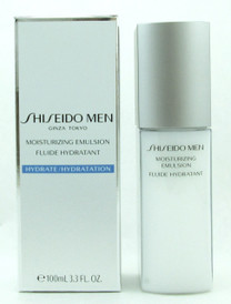Shiseido Men Moisturizing Emulsion 100 ml./ 3.3 oz. NIB