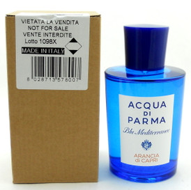 Acqua Di Parma Blu Mediterraneo Arancia Di Capri 5 oz EDT Spray Tester with Cap