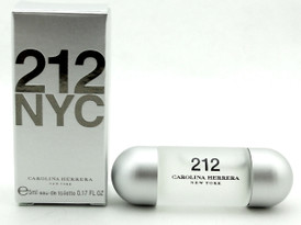 Carolina Herrera 212 NYC 0.17 oz / 5 ml Mini Eau de Toilette Women Splash