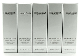 Natura Bisse Diamond Extreme Eye Energizing Lifting Eye Cream 2 ml. Lot of 5.NIB