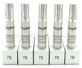 Natura Bisse Diamond Life Infusion Retinol Eye Serum Sample 3 ml. Lot of 5 Boxes