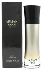 Armani Code ABSOLU Cologne by Georgio Armani 3.7 oz. Parfum Spray for Men. NEW