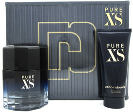PURE XS by Paco Rabanne Set for Men: 3.4 oz. EDT Spray + 3.4 oz. Sh/Gel. New Box