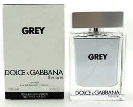 Grey Dolce & Gabbana The One Cologne 3.3 oz EDT Intense Spray Tester with Cap