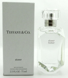Tiffany SHEER Perfume by Tiffany & Co 2.5 oz.EDT Spray Tester with Cap
