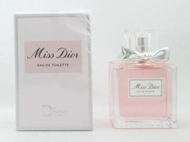 Miss Dior  by Dior Eau De Toilette Spray for Women 100 ml./ 3.4 oz. Damaged Box