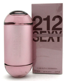 212 Sexy Perfume by Carolina Herrera 3.4 oz. EDP Spray for Women.New.Damaged Box