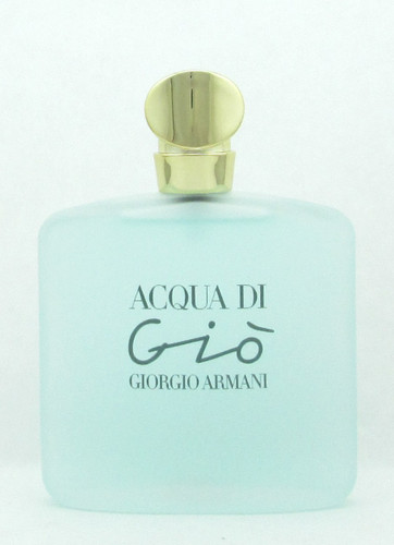 Acqua Di Gio by Giorgio Armani Eau de Toilette Spray for Women 100 ml./ 3.4 oz. NO BOX