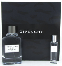 Gentlemen Only by Givenchy 2Pc Gift Set for Men: 3.3 oz. + 15 ml. EDT Spray. New