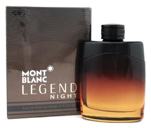 Mont Blanc Legend Night by Mont Blanc 3.3 oz. Eau De Parfum Spray for Men NIB
