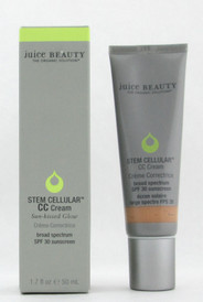 Juice Beauty Stem Cellular CC Cream SPF 30 Sun Kissed Glow 1.7 oz./ 50 ml. New in Box