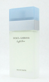 Dolce & Gabbana Light Blue Eau de Toilette Spray for Women 50 ml./ 1.6 oz. NO BOX