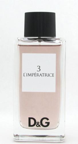 3 L'Imperatrice Pour Femme by Dolce & Gabbana Eau De Toilette Spray 100 ml./3.3 oz. NO BOX
