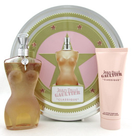 Jean Paul Gautier ''Classique'' Set for Women: 3.4 oz.EDT Spray+ 2.5 oz.B/Lotion