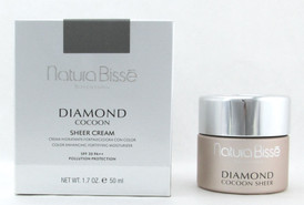 Natura Bisse Diamond Cocoon Sheer Cream SPF 30 1.7 oz./ 50 ml. New In Box