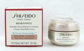 Shiseido Benefiance Wrinkle Smoothing Eye Cream 15 ml./ 0.51 oz. NIB