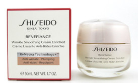 Shiseido Benefiance Wrinkle Smoothing Cream Enriched 50 ml./ 1.7 oz. New In Box