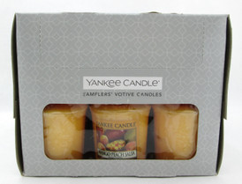 Yankee Candle Mango Peach Salsa Scent Lot of 18 Votive Candles.Brand new in Box.