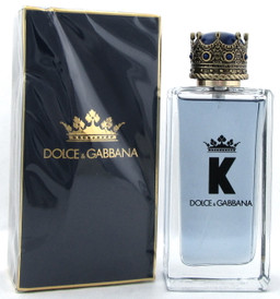 K Cologne by Dolce & Gabbana 3.3 oz. Eau de Toilette Spray for Men Damaged Box