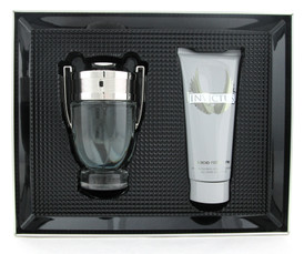 Invictus by Paco Rabanne Set:3.4 oz.EDT+ 3.4 oz. All Over Shampoo New in Tin Box