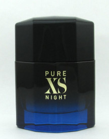 PURE XS NIGHT Cologne by Paco Rabanne 3.4 oz. EDP Spray for Men NO BOX