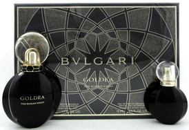 Bvlgari Goldea The ROMAN NIGHT 1.7 oz.+ 15 ml. Eau de Parfum Sensuelle Spray.SET