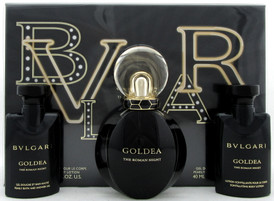 Bvlgari Goldea The ROMAN NIGHT 1.7oz EDP Sensuelle Spray + 1.35oz B/Lot & S/Gel