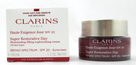 Clarins Super Restorative Day Cream SPF 20 All Skin Types 1.7 oz. Damaged Box