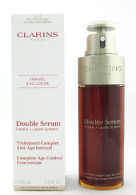 Clarins Double Serum Complete Age Control Concentrate 100 ml./ 3.3 oz. New