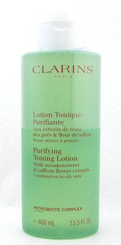 Clarins Purifying Toning Lotion Combination to Oily Skin 400 ml./13.5 oz. Sealed