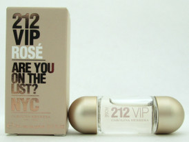 212 VIP Rose by Carolina Herrera EDP Mini 0.17 oz./ 5 ml. For Women