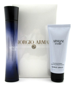 Armani Code by Giorgio Armani 2 PC Set: 2.5 oz EDP Spray+ 2.5 oz B/L