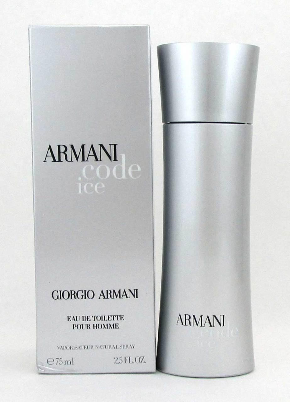 bc5767c856b1 Add to Wish List. Click the button below to add the Armani Code Ice by Giorgio  Armani EDT Spray 2.5oz for Men*Damaged Box ...