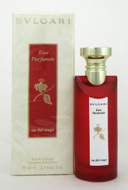 Au The Rouge by Bvlgari Eau de Cologne Spray 2.5oz. New in Sealed Box