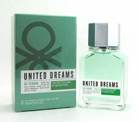 Benetton United Dreams Be Strong EDT Spray 3.4 oz./100 ml.for Men