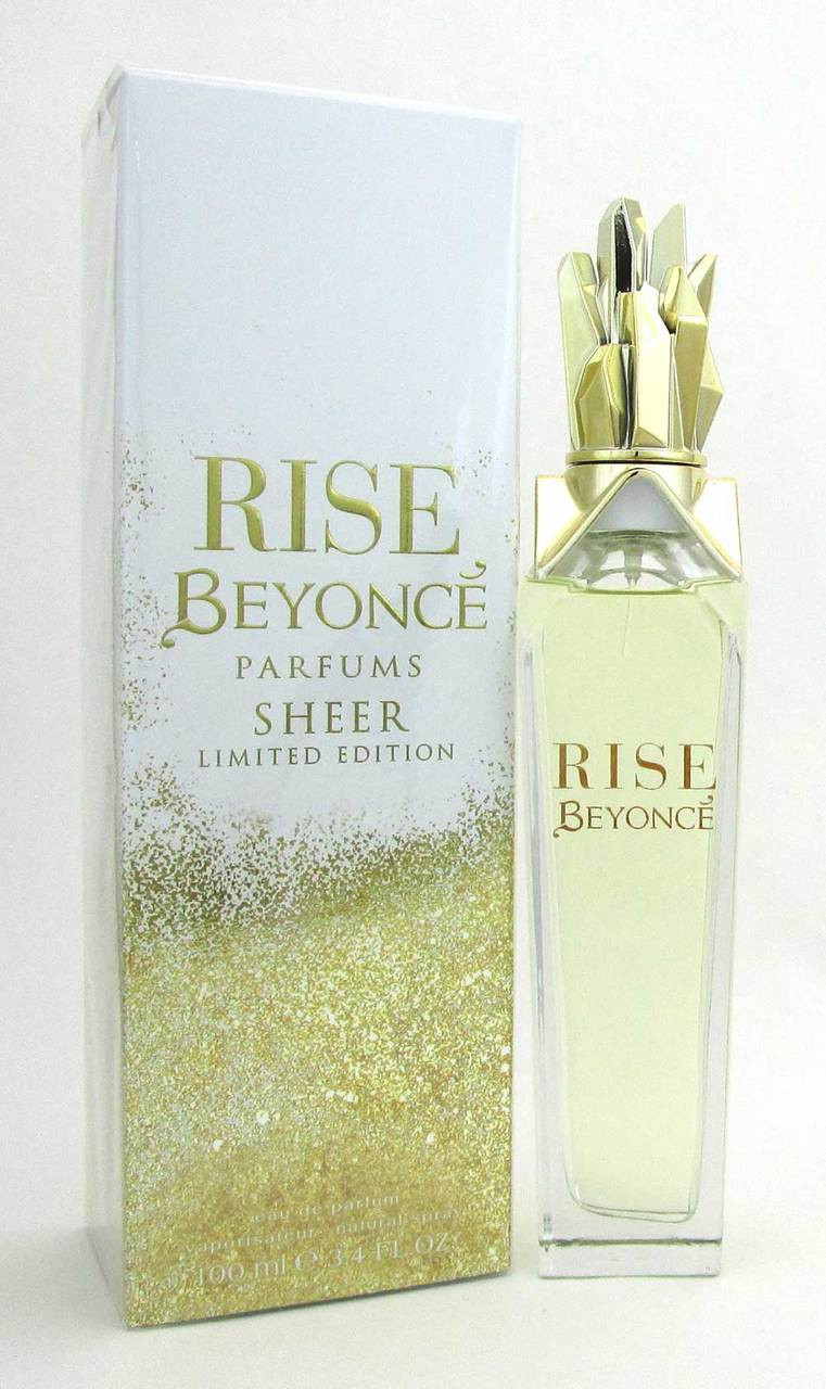 Beyonce Rise Sheer Ltd Eau De Parfum Spray 34 Oz 100 Ml For Women