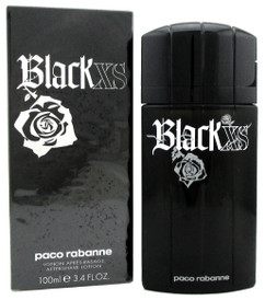 Black XS by Paco Rabanne After Shave Lotion Splash 3.4 oz. for Men