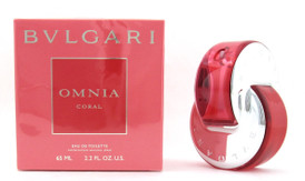 Bvlgari Omnia Coral by Bvlgari Eau de Toilette Spray 2.2 oz.For Women
