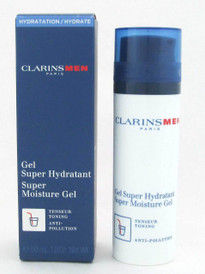 Clarins Men Super Moisture Gel New Packaging 50 ml/1.8 oz.NIB