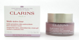 Clarins Multi-Active Day Cream Gel Normal to Combination 50 ml./ 1.7 oz. New